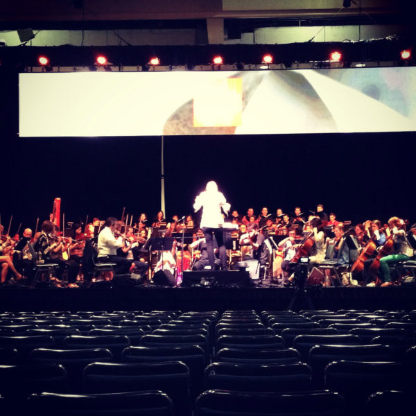 2014 Anime Expo Orchestra Concert at the LA Convention Center
