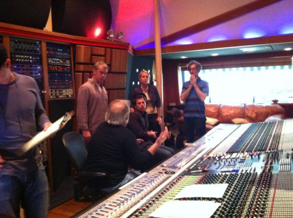Actor Alan Cumming and Composer Joey Newman at the Any Day Now session at Conway
