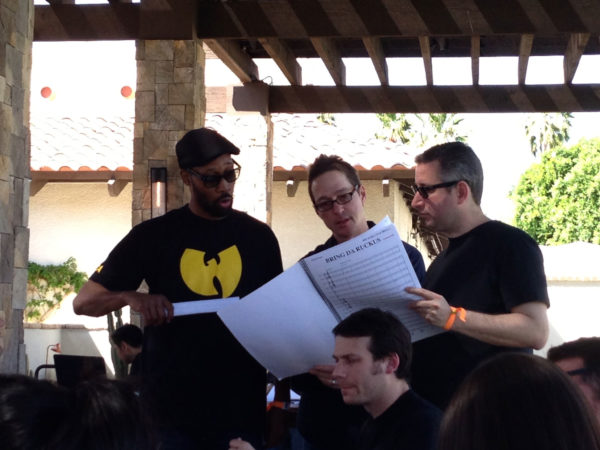 Coachella 2013 with the Wu Tang Clan, RZA, Howard Drossin and Mark
