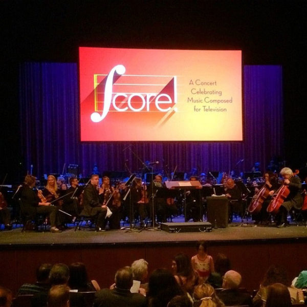 Emmy concert Score at UCLA's Royce Hall