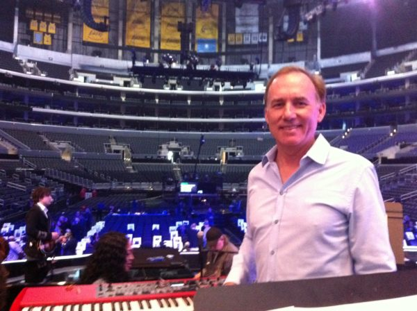 Grammys 2012 with Glen Campbell and Bennet Salvay at the Staples Center