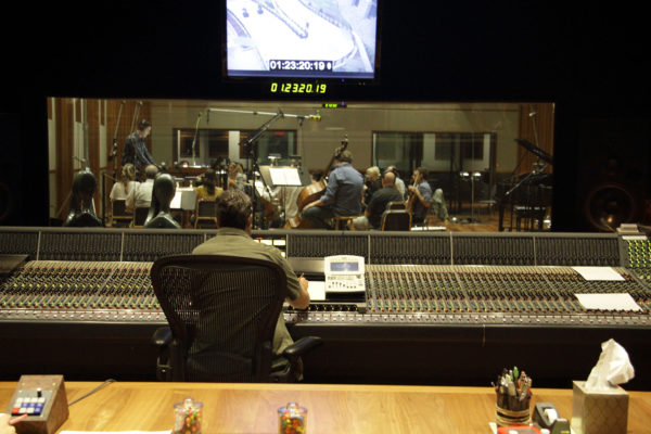 Grounded film with Brian Kim and Daniel Chan conducting at Bridge