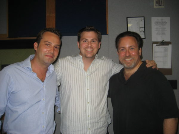 Hugo de Chaire and Joey Newman visit Lucas Richman and BMI workshop 2008