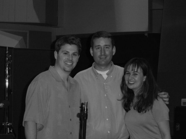 Joey Newman, Mark, and Deborah Lurie for Sleepover at Paramount