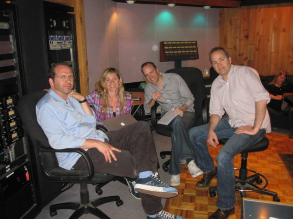 Lucy Woodward session with Dan and Doug Petty at Entourage Studios
