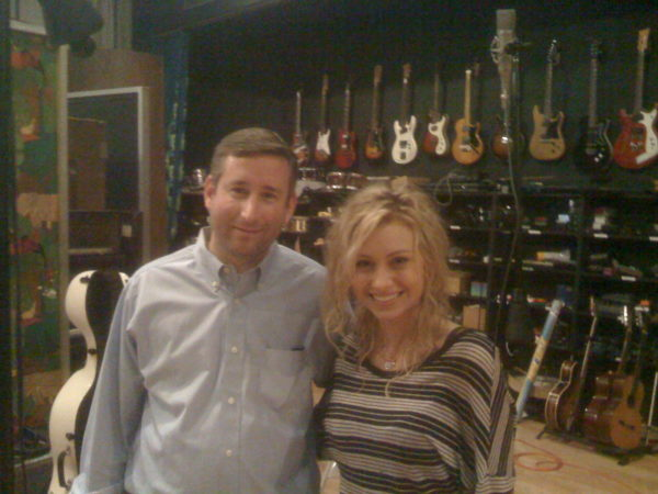 Mark with Aly from Aly AJ, now known as 78violet (arr. Deborah Lurie)