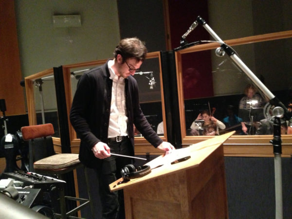 OneRepublic iTunes session with Brandon Collin, conductor, at Capitol
