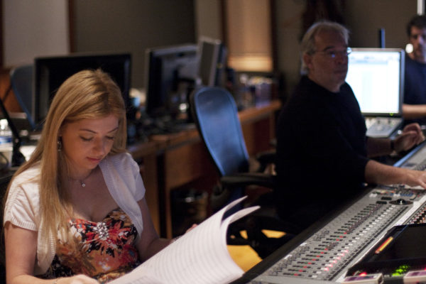 Pinar Toprak and Tommy Vicardi for Wind Gods at WB Studios