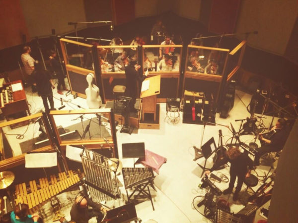 Recording live with OneRepublic at Capitol.