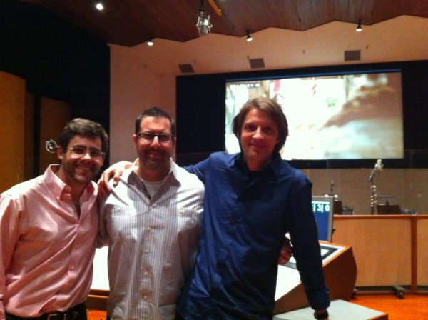 Revolution recorded at Sony with Dre Silverstein, Chris Lennertz, and Phil White