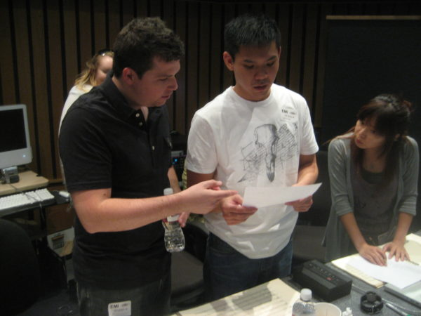 Subject I Love You session with conductor Joey Newman and Chrissy Chang at Capitol