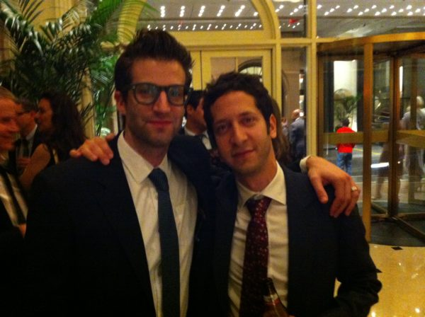 The Track Team (Ben Wynn and Jeremy Zuckerman) at the BMI awards