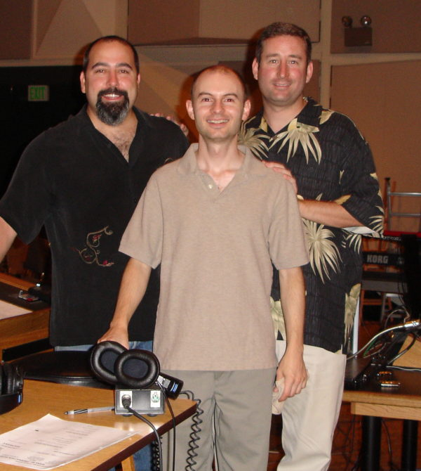 Tree Adams, Victor Lawrence, and Mark Paramount