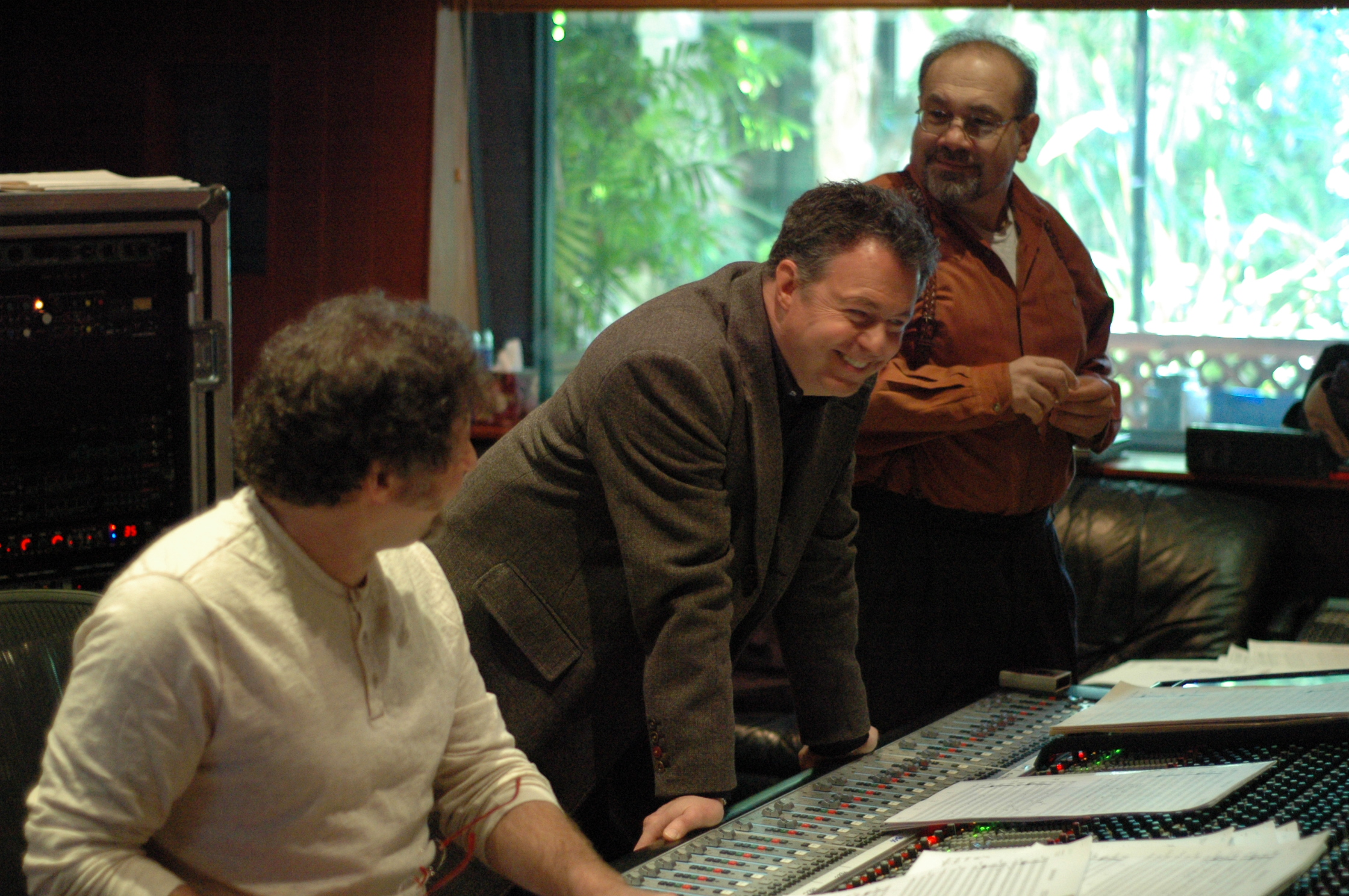 Wall-E videogame session:Frank Wolf:Bruno Coon:Jonathan Sacks (Conway)