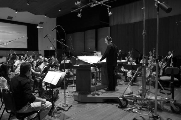 Wind Gods with Pinar Toprak at WB Studios and Jereme Leroy conducting