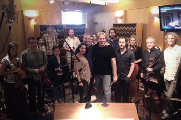 Composer Kim Planert, Conductor Tim Willaism, Orchestra A reason at Igloo Studios
