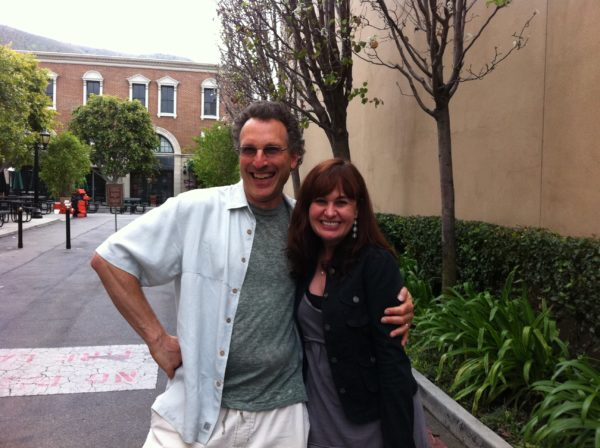Composers David Kitay and Deborah Lurie for the Haiti Project Recording