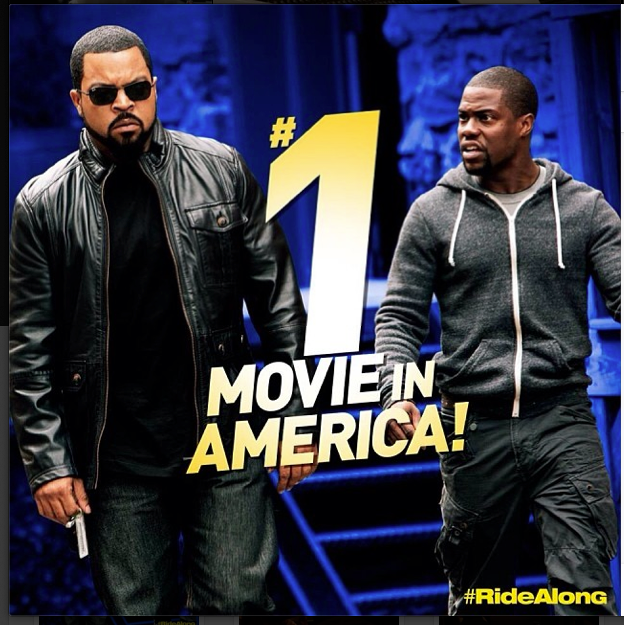 Ride Along, #1 Movie in America!